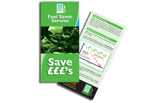 Tec4 Fuel Saver Service customer leaflet