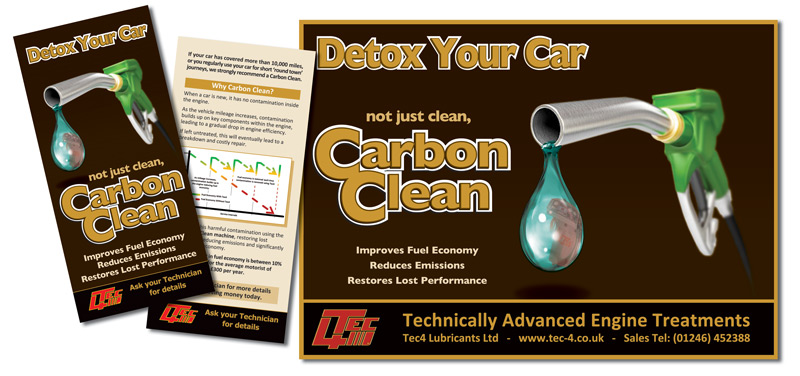 Tec4 Carbon Clean Marketing materials
